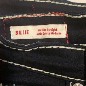 BILLIE Mid Rise straight jeans